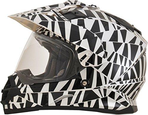 AFX FX-39DS Dazzle Dual Sport Mens Motorcycle Helmets - Large