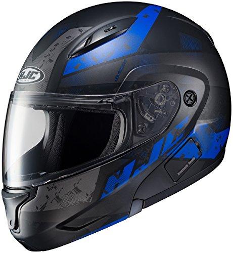 HJC CL-Max II Friction Mens Motorcycle Helmets - BlackBlue - 4X-Large
