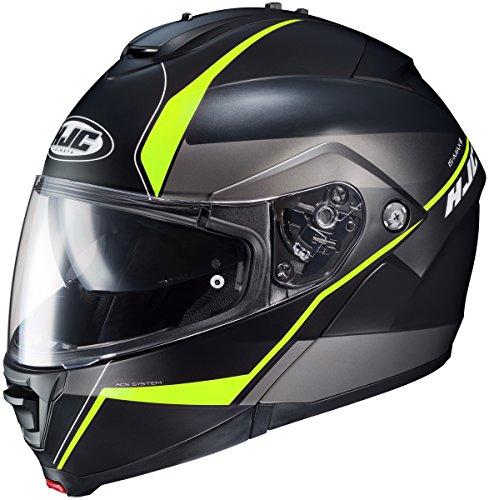 HJC IS-Max II Mine Mens Motorcycle Helmets - BlackGreen - 5X-Large