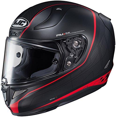 HJC RPHA 11 Pro Riberte Mens Motorcycle Helmets - BlackRed - 2X-Large