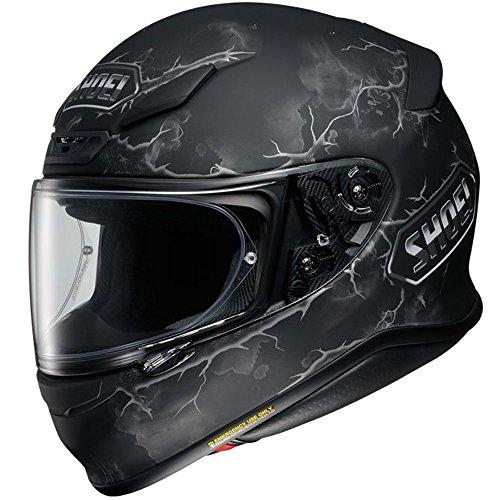 Shoei RF-1200 Ruts Mens Motorcycle Helmets - Black - Large