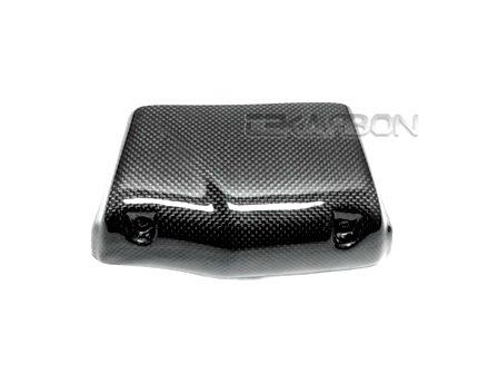 Tekarbon Replacement for Oil Cooler Cover 6-row Buell XB Firebolt Lightning Carbon Fiber 1x1 Plain Weave