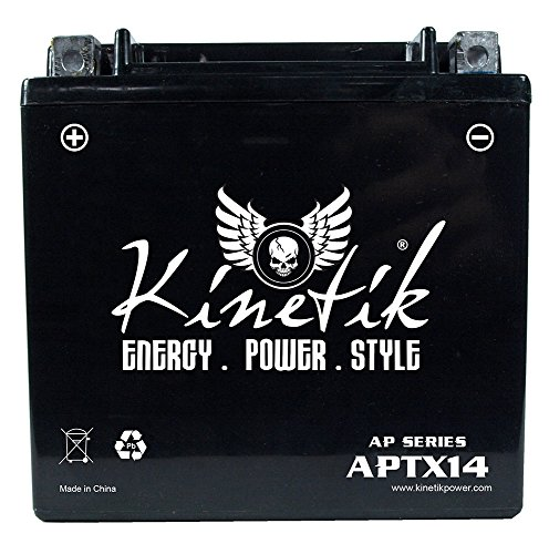 12V 12Ah Replacement for 2009 Buell Blast AKA Motorcycle Battery