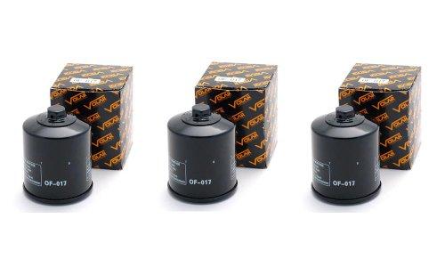 2004-2010 Buell Firebolt XB12R Oil Filter - 3 pieces
