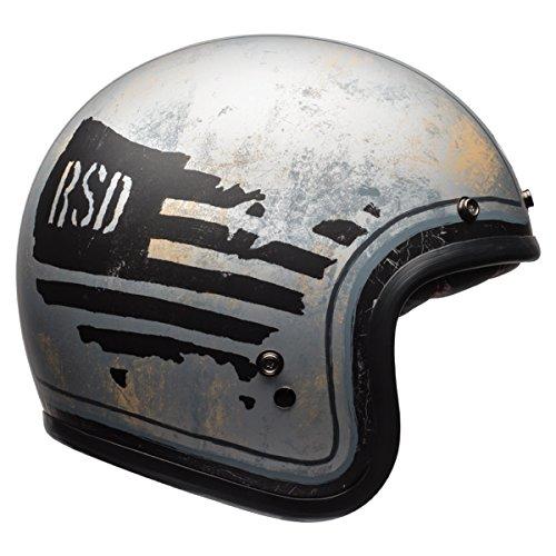 Bell Custom 500 Unisex-Adult Open face Street Helmet Rsd 74 Medium DOT-Certified