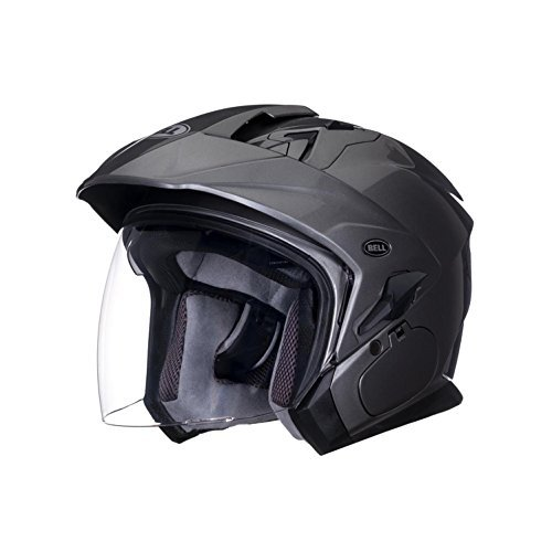 Bell Mag-9 Unisex-Adult Open face Street Helmet Solid Titanium X-Large DOT-Certified