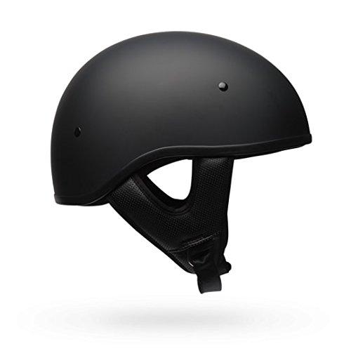 Bell Pit Boss Sport Unisex-Adult Half Street Helmet Solid Matte Black Large DOT-Certified