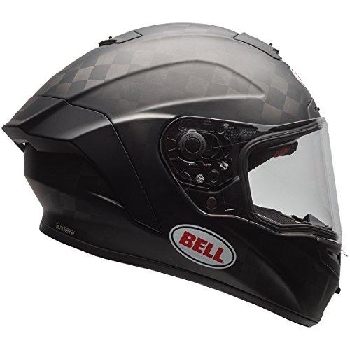Bell Pro Star Unisex-Adult Full Face Street Helmet Solid Matte Black X-Large DOT-Certified