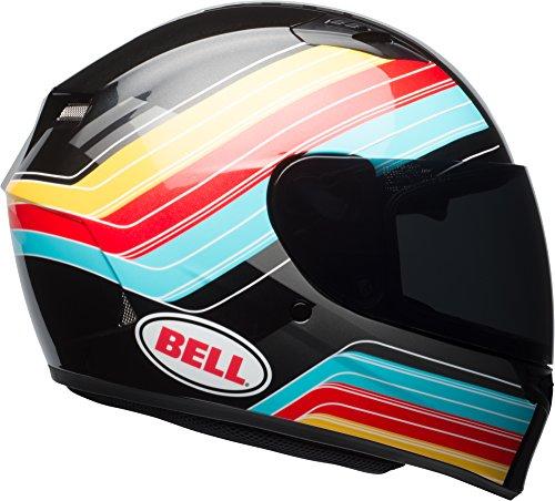 Bell Qualifier Full Face Street Helmet - Command Blue  Red  Yellow - Medium