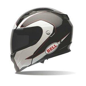 Bell Revolver Evo Unisex-Adult ModularFlip Up Street Helmet Ghost Black Large DOT-Certified