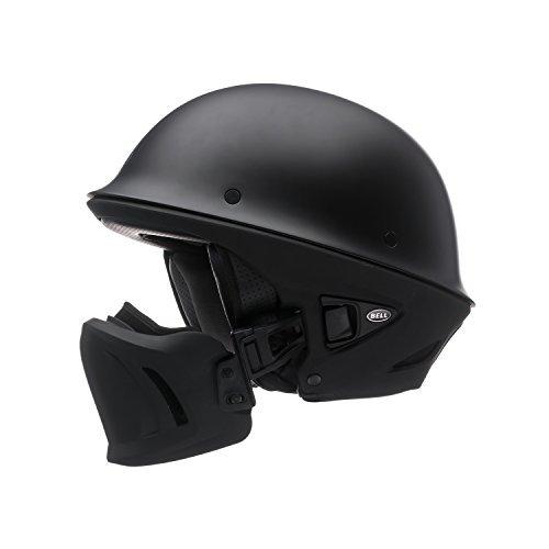 Bell Rogue Unisex-Adult Half Street Helmet Solid Matte Black Large DOT-Certified