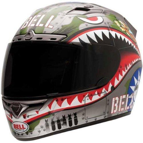 Bell Vortex Unisex-Adult Full Face Street Helmet Flying Tiger Small DOT-Certified