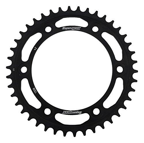 Supersprox RFE-1308-42-BLK Rear Steel Sprocket Black For Honda CBR 600 RR 03 04 05 06 07 08 09 10 11 12 13 14 15 16 CBR 900 RR 93 94 95 96 97 98 99 00 01 02 03