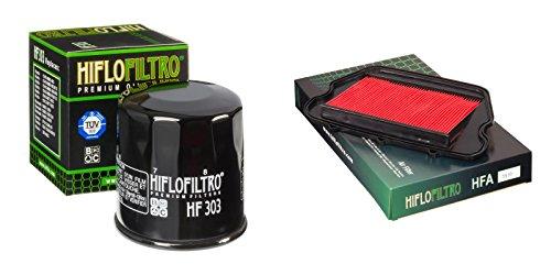 Oil and Air Filter Kit for HONDA CBR1100 XX-VW BlackBird SC35 97-98 HIFLO FILTRO