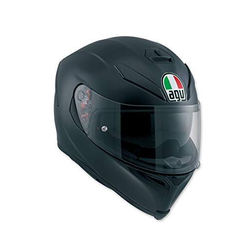 AGV Unisex Adult K-5 S Matte Black Full Face Helmet 0041O4HY003XL