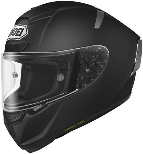 Shoei X-Fourteen Matte Black Full Face Helmet - Small