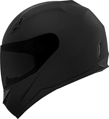 GDM DK-140 Full Face Motorcycle Helmet Matte Black Large Clear and Tinted Visors