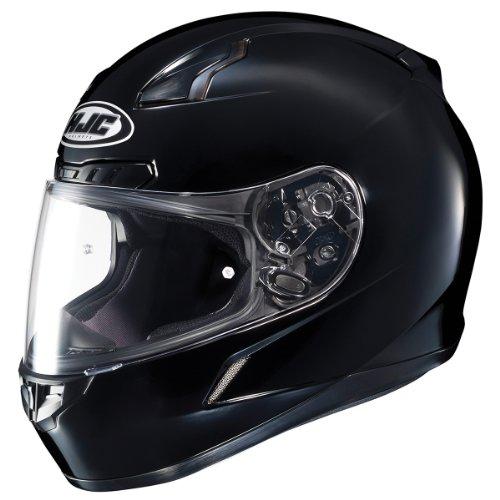 HJC CL-17 Solid Black Full Face Motorcycle Helmet - Small
