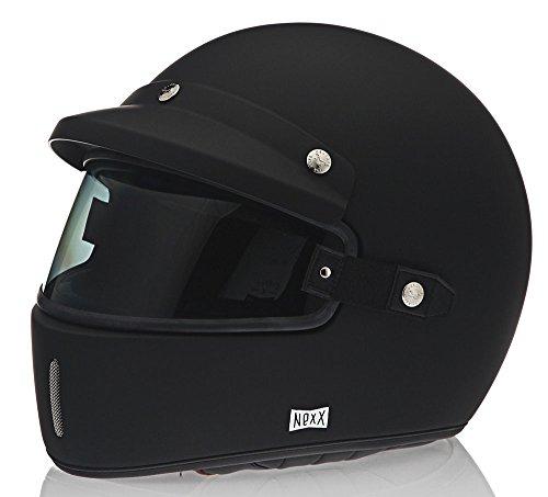 NEXX XG100 Purist Black Full Face Motorcycle Helmet L