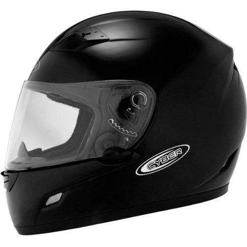 Cyber Helmets US-39 Solid Helmet  Size Sm Primary Color Black Distinct Name Black Helmet Type Full-face Helmets Helmet Category Street Gender MensUnisex 640711