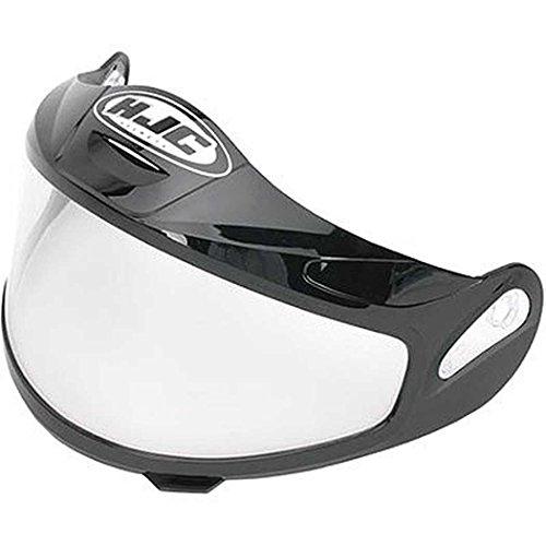 HJC Helmets Unisex-Adult Full-Face-Helmet-Style CR-05 Dual Lens Shield Helmet Clear One Size