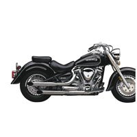 Cobra Boulevard 2in Drag Pipe Exhaust System - 34 SystemChrome