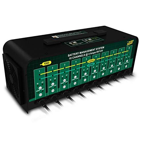 Battery Tender 10-Bank 6V12V 4A Selectable Battery Charger