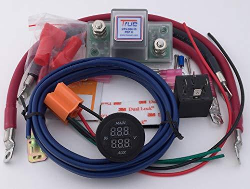 True UTV-SBI-CM UTV Dual Battery Connect Monitor Kit