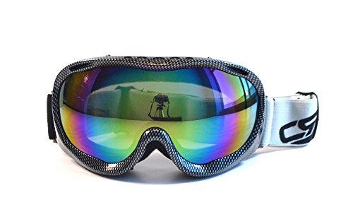 CRG Motocross ATV Dirt Bike Off Road Racing Goggles Adult T815-37 Iridium