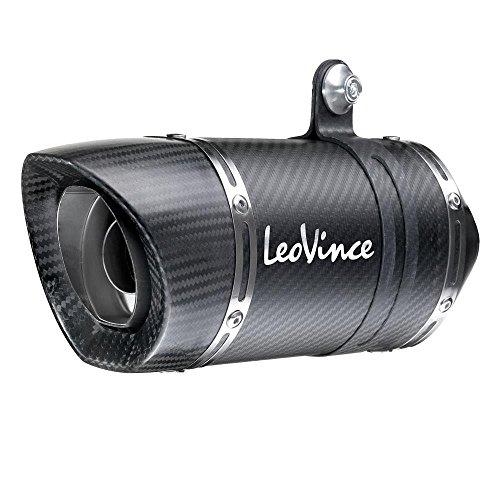 Leo Vince LV One Evo Slip-On - Carbon Fiber Muffler 14125E