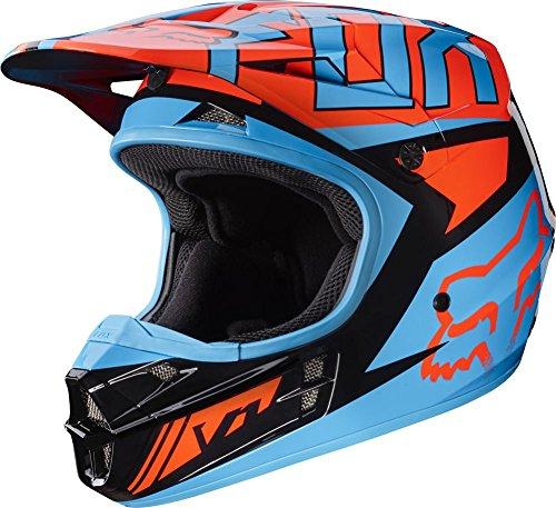 Fox Racing Falcon Adult V1 Motocross Motorcycle Helmets - BlackOrange  2X-Large