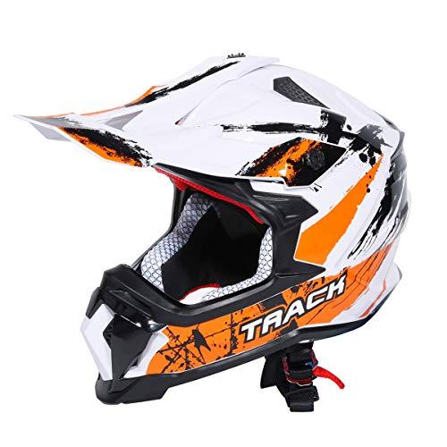 XFMT DOT Adult Full Face Helmet Motocross Off-Road Dirt Bike Motorcycle ATV M