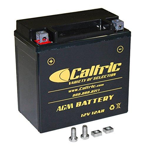 CALTRIC AGM BATTERY Fits KAWASAKI VN800 VN-800 VULCAN 800 CLASSIC DRIFTER 1995-2003