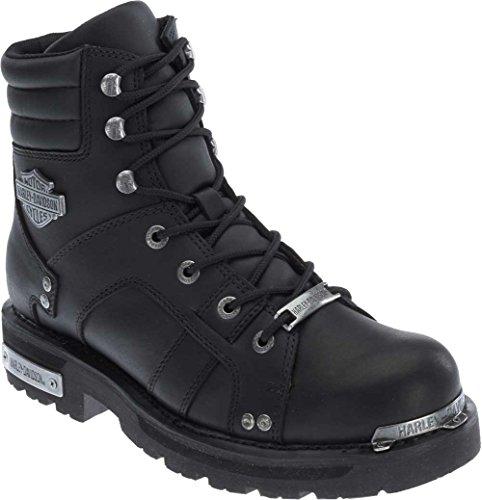 HARLEY-DAVIDSON FOOTWEAR Mens Bonfield Motorcycle Boot Black 115 Medium US