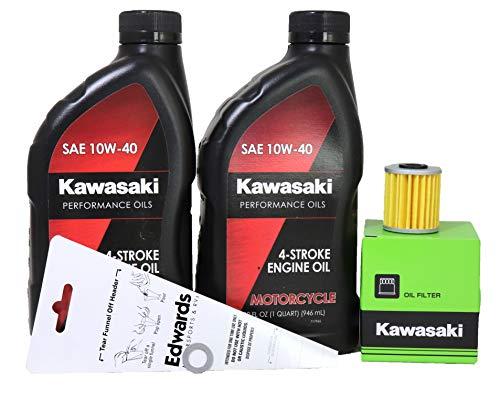 2007 Kawasaki KX250F Oil Change Kit