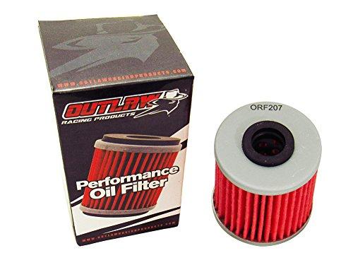 Outlaw Racing ORf207 PerFormance Oil Filter Beta Evo 300 Kawasaki KX250F Suzuki Rmz250 Offroad Motorcycle Replaces Kn207