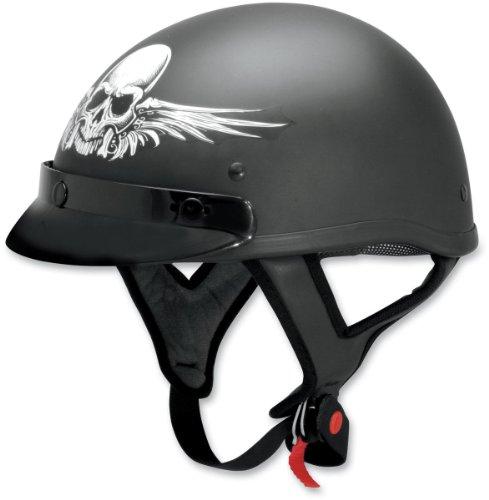 AFX FX-70 Skull Helmet - X-LargeFlat Black