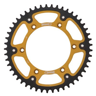 Supersprox Stealth Rear Sprocket 44 Tooth Gold for Kawasaki Ninja ZX-12R 2000-2005