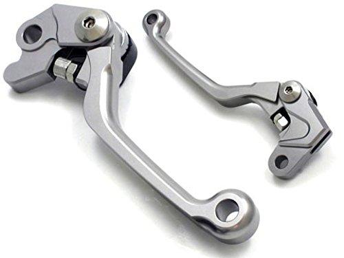 Short type Folding Brake Clutch Levers for Kawasaki KX250F 2005-2012