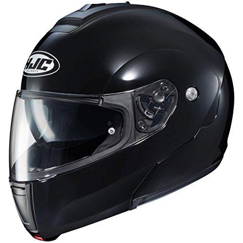 HJC Solid Mens CL-MAX 3 Modular Street Motorcycle Helmet - BlackLarge