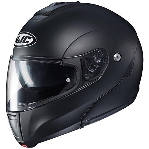 HJC Solid Mens CL-MAX 3 Modular Street Motorcycle Helmet - Semi Flat BlackLarge