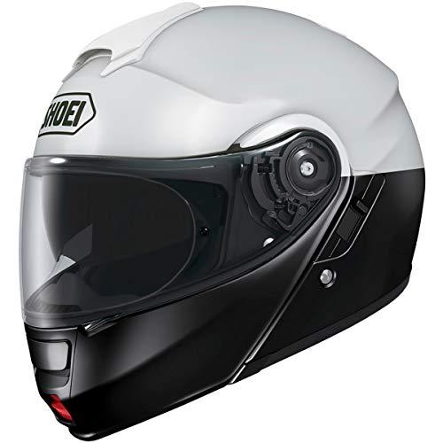 Shoei Neotec 2 Le Lo-Rise Adult Modular Street Motorcycle Helmet - BlackWhiteMedium