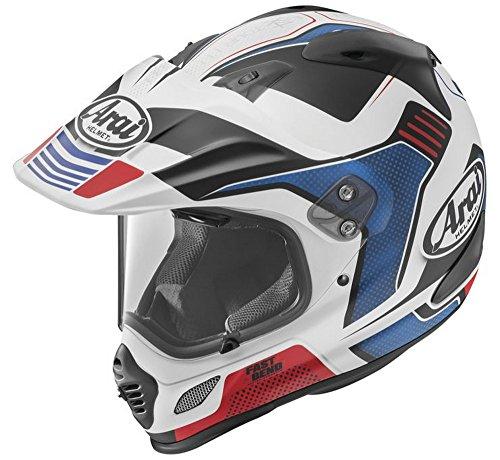 Arai XD4 Vision Frost Red Dual Sport Helmet - Medium