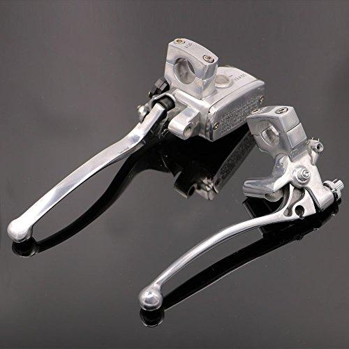 Motorcycle 1 Master Cylinder Hydraulic Brake Control Clutch Lever For Harley-Davidson Dyna Wide Glide FXDWG 2005-2014
