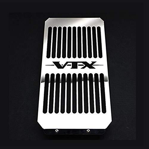 Radiator Cover Grill Grille Shrouds Cooler Protector For Honda VTX 1800 CRST VTX1800FN Chrome