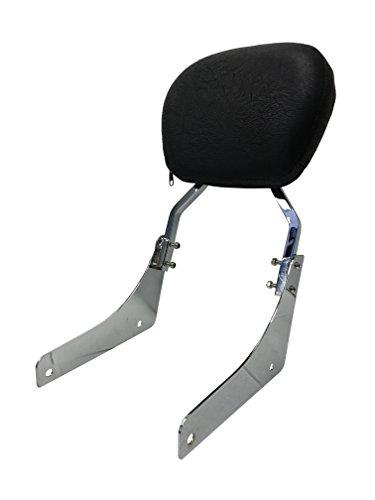 Contoured - Sissy Bar Backrest for 2002-2009 Honda VTX1300RVTX1300SVTX1800RVTX1800SVTX1800N