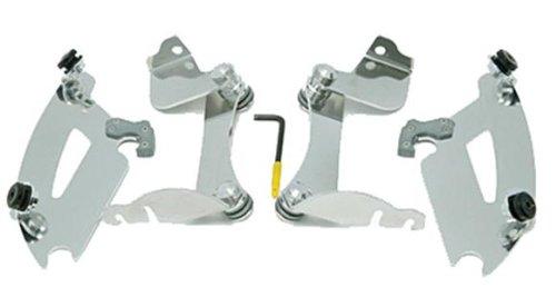 Memphis Shades MEK1978 Trigger-Lock Mounting Kit Polished fits Honda VTX1300RS 2003 - 2009