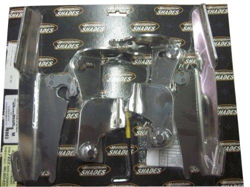 Memphis Shades MEM8963 Trigger-Lock Mounting Kit Polished for Honda VTX1300R and VTX1300S 2003 - 2009