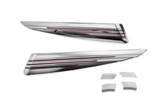 Kuryakyn 7272 ChromeRed LED Saddlebag Extension