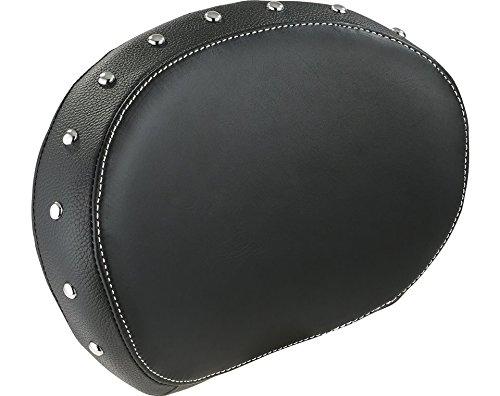 Indian Genuine Leather Passenger Backrest Pad Black - 2879666-02